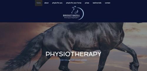 Bridget Bazell Physiotherapy (http://bridgetbazellphysio.co.uk/) - Website Design