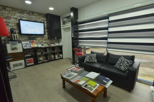 JDS Window Blinds Showroom Customer Seating