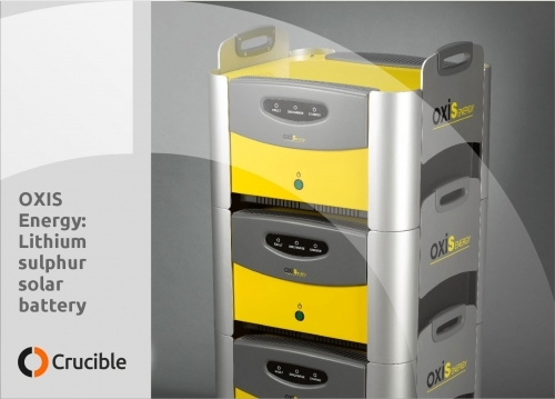 Oxis Energy solar storage battery system
