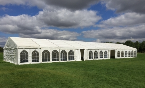 9m X 30m Marquee Set Up