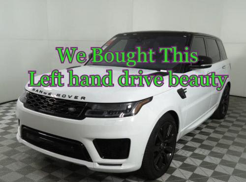 left hand drive cars