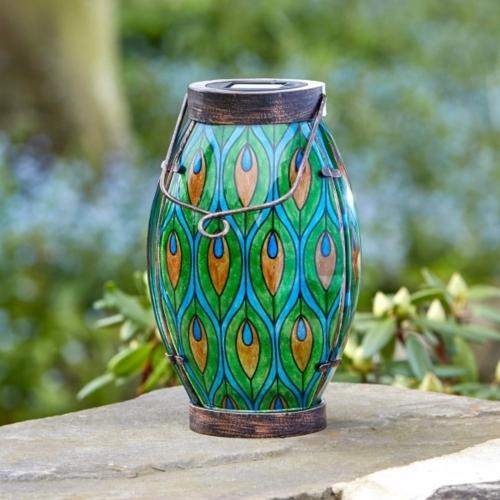 Peacock Lantern - £20.00