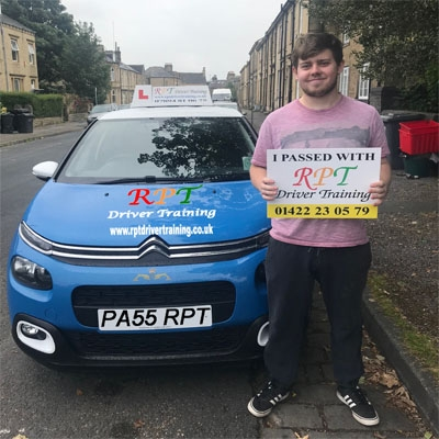 RPT Driver Training Driving Lessons Halifax Joshua Stead
