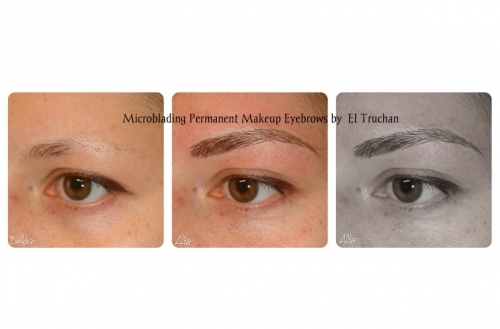 3D Microbladed Eyebrows Restoration for Alopecia, Trichotillomania, post chemo by El Truchan @ Perfect Definition