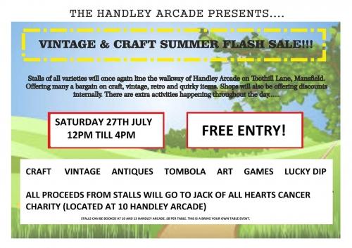 Handley Arcade Summer Fair