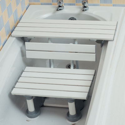 Bath seats and bath boards