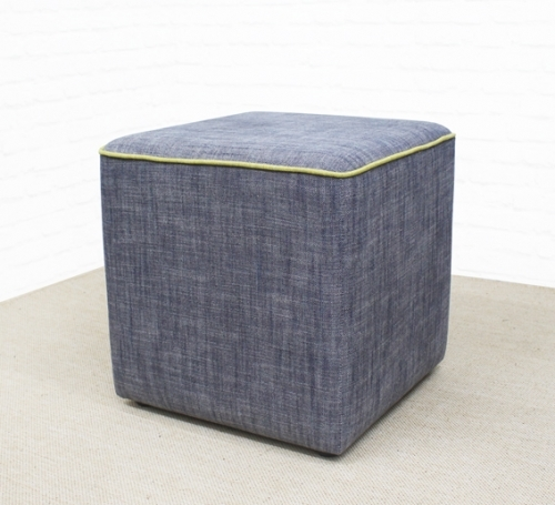 Stylish Cube with contrasting piping