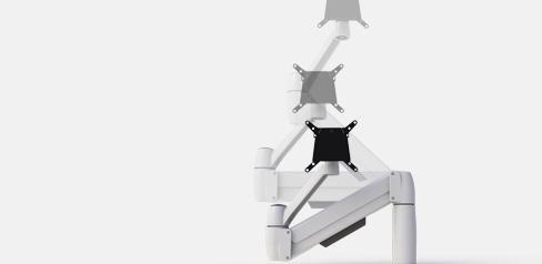 SpaceArm Gas Lift Monitor Arm