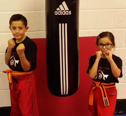 Junior Dragons Kickboxing 7-12 Years