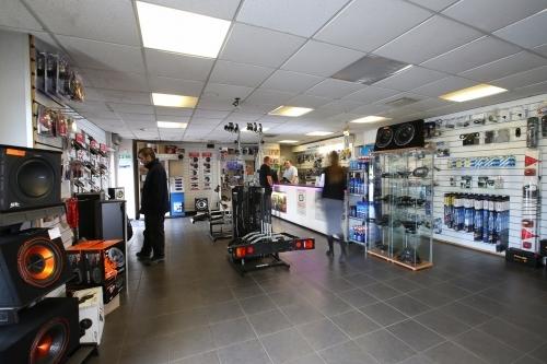 Inside Warrington Car Audio and Towbar Centre