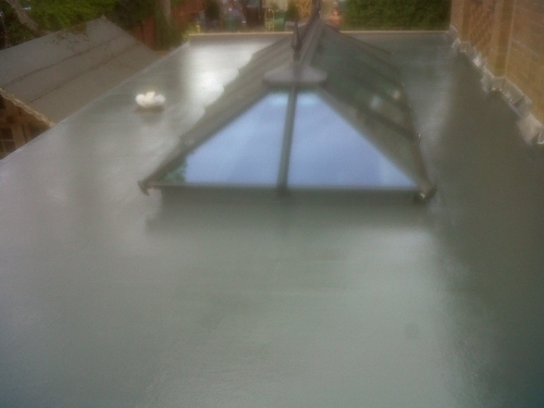Liquid Plastics Re-Roof