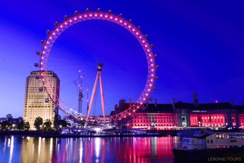 London Eye By Night Leading Tours London