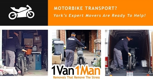 Motobike Pickup 1 Van 1 Man Removals