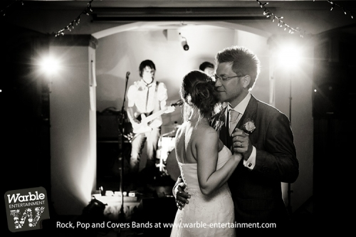 Wedding Bands for hire from Warble Entertainment
