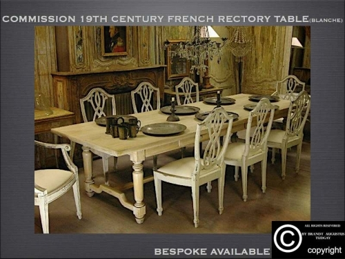 Refectory tables many variations available. www.bespokefurnituremakers.company