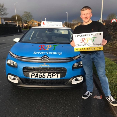 RPT Driver Training Driving Lessons Halifax Karl Crawford