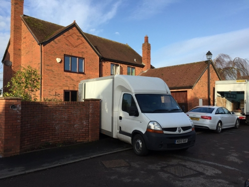Moving house in Worsley