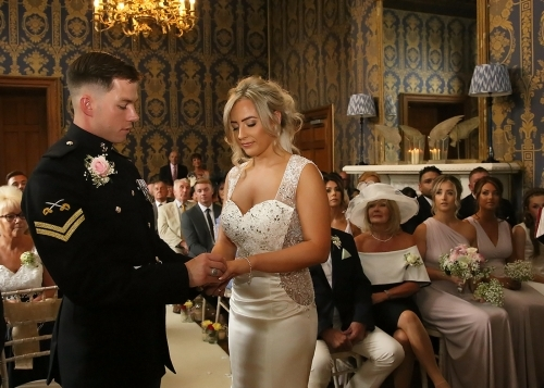 Soughton Hall Ceremony In North Wales