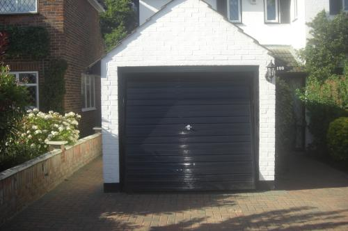 Garage Door before in Orpington Kent