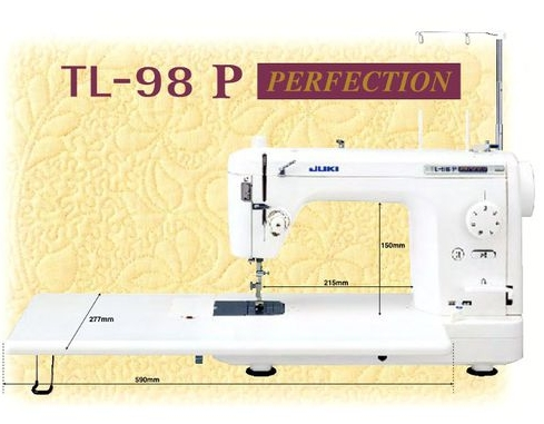 Juki TL 98 P. The perfect machine for big quilting projects.