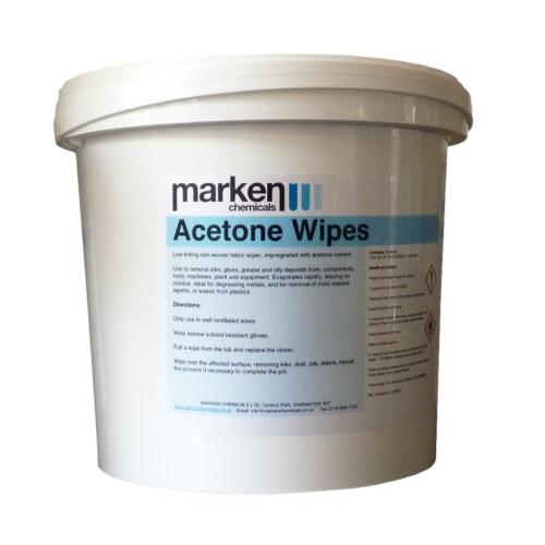 Acetone Wipes 150