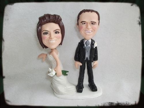 Humorous Personalised Wedding Cake Toppers