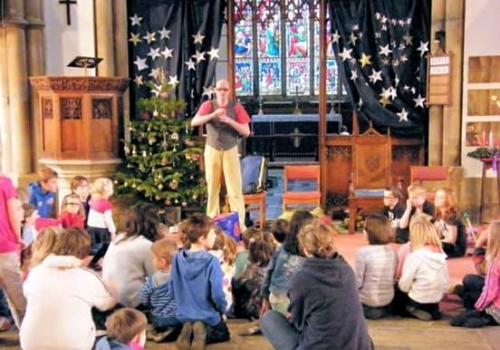 Circus and Gospel Juggling in Northumberland.