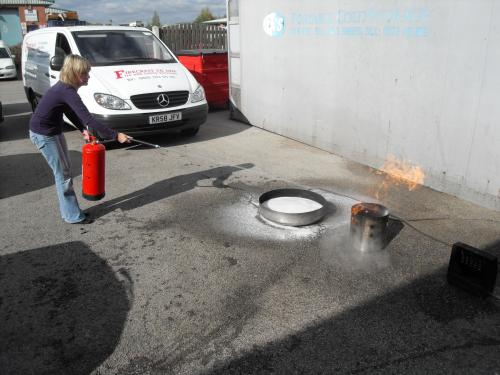 Fire Awarness / Safe use of Fire Extinguisher Training Courese