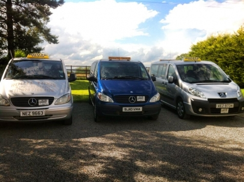 Eight seater taxis