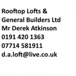 Rooftop Lofts And General Builders