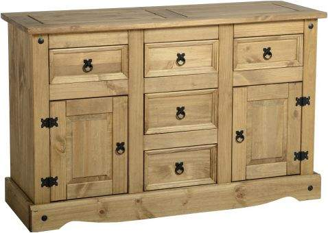 CORONA SIDEBOARD 2 DOOR 5 DRAWER