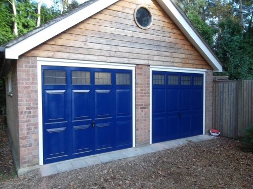 Cardale Up and Over Doors Installed In Fleet Hampshire