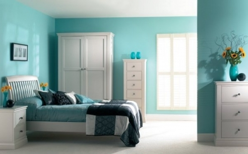Annecy by Corndell, stunning painted bedroom, dining and occasional furniture