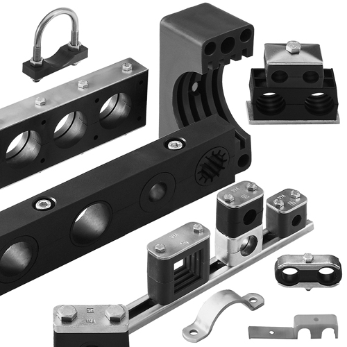 Stauff Pipe and Tube Clamps