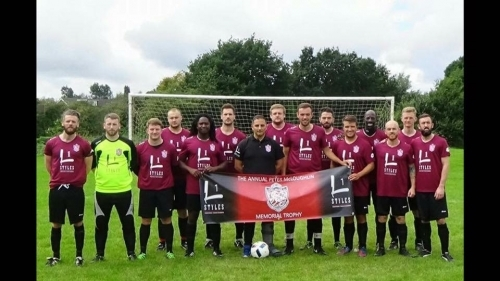 PROUD SPONSORS OF LOCKY UNITED FC. L1 STYLES