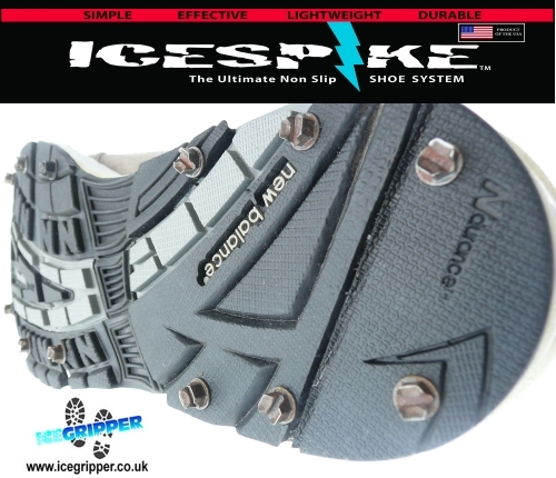 Maintain winter training routine with ICESPIKE by ICEGRIPPER