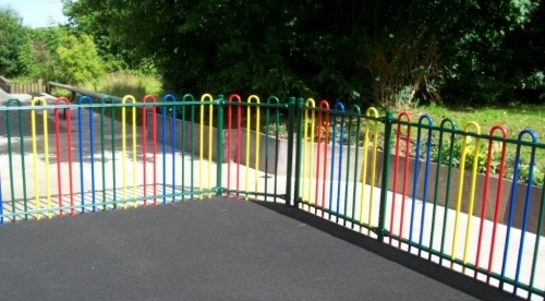 Buckshaw Primary School Chroleytango Tr800 Bow Top Railings