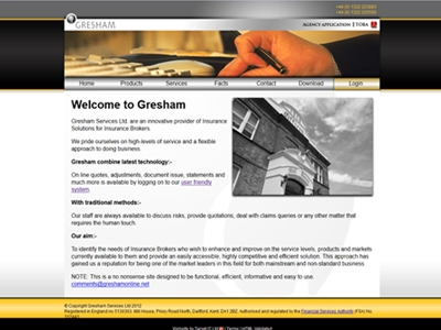 Gresham - Modern websites with jQuery and CSS3