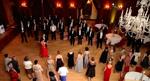 Fun Cha-Cha dance class at The London Gala Ball by Andrew and Viktoriya
