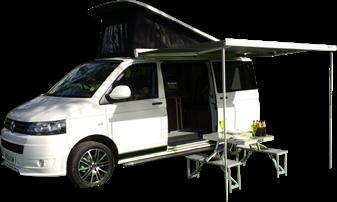 Camper Van for Hire - Dave