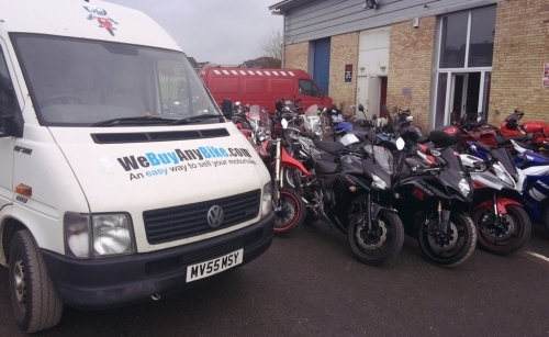 Motorcycle Valuation With We Buy Any Bike