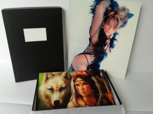 aluminium photo panels & custom box