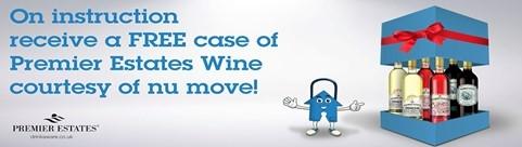Free case of Premier Estate Wines courtesy of nu:move