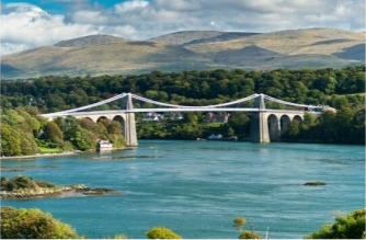 Menai Bridge As Ping