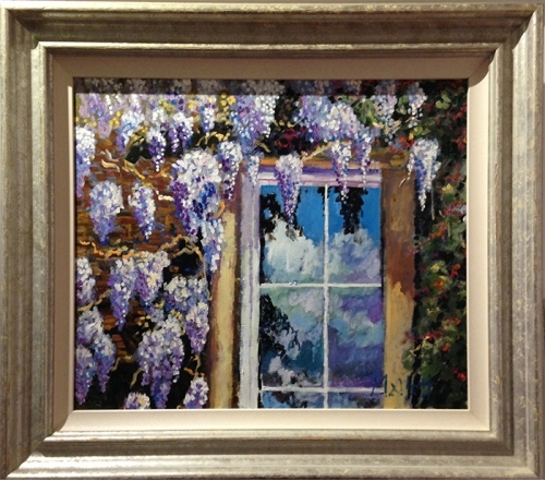 "Timmy Mallet ""Wisteria and Honeysuckle"""