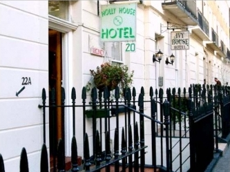 Exterior of Holly House Hotel London