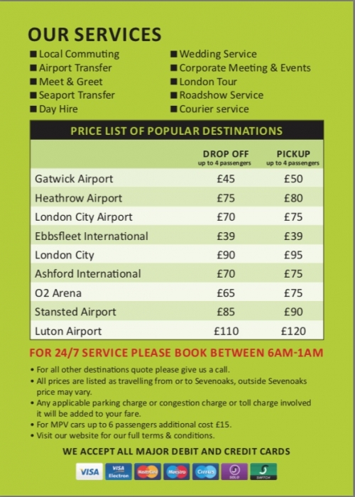 Airport Prices