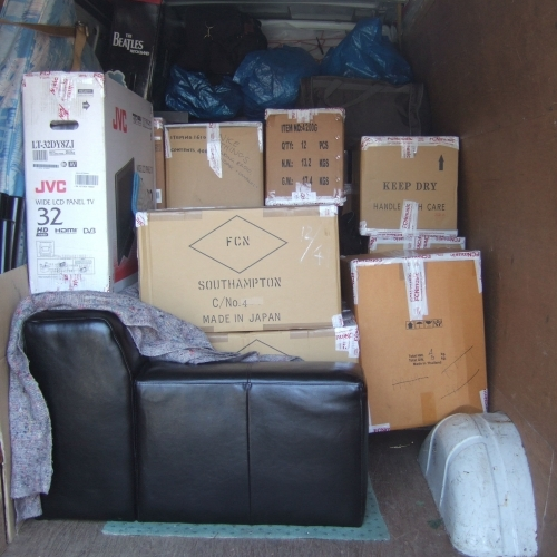 Small Flat Or House Move Items