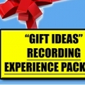 Gift Ideas Recording Experience