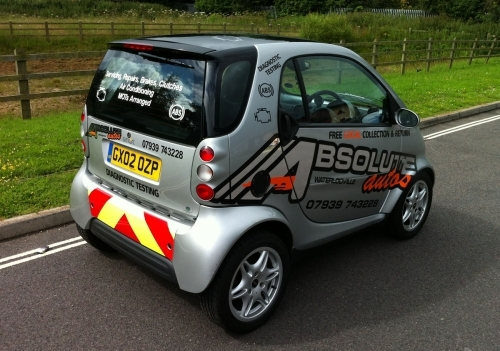 Signs for cars and vans - Very Smart